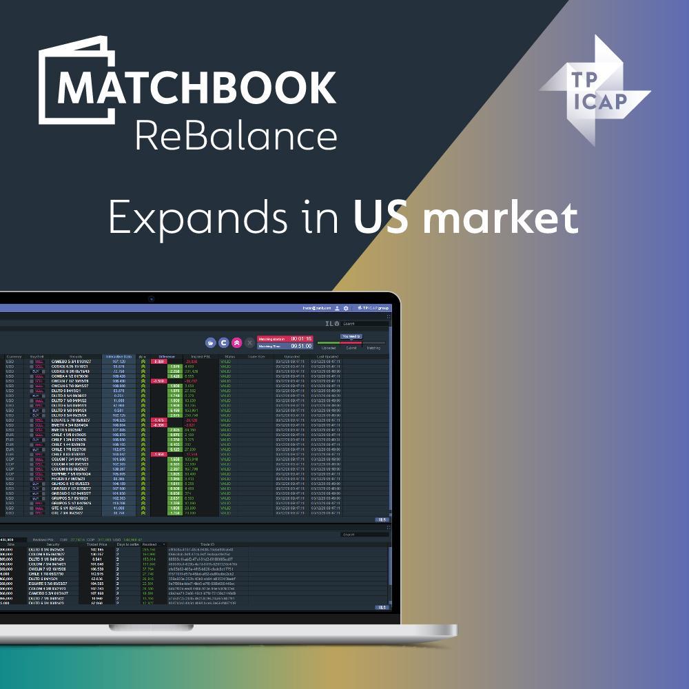 TP ICAP Expands MATCHBOOK Rebalance in US